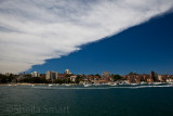 Manly Harbour with cloud front
