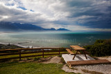 Kaikoura with bench