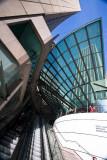 AMP escalator and buildings