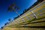 Fence diagonal