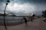Sydney Harbour fisheye
