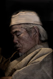 Japanese man on ferry