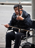 Erhu player at Circular Quay