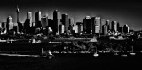 Sydney Harbour in monochrome