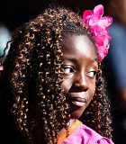 Little girl with great hair