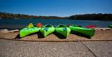 Narrabeen kayaks