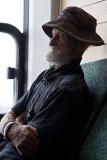Elderly gent on Manly ferry