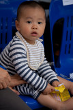 Baby in audience