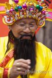 Man in traditional Vietnamese dress