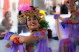 Vietnamese dancer  at Lunar festival