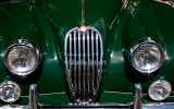 Jaguar car close up