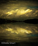 Storm clouds of Narrabeen Lake