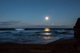 Moonlight over Avalon Beach