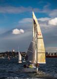 Yacht on Sydney Harbour