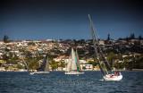 Yacht race on Sydney Harbour