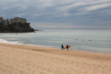 North Steyne, Manly with surfers
