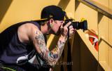 Photographer on ferry