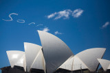 Sorry in skywriting over Opera House