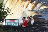 Morgan, Karen, Julie - Kaieteur Falls