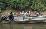 Drifting down river birding