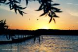 Sundown at Ampton Water