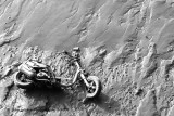 Scooter on The Mud