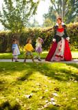 Tiny Tots costume parade