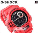 2012 CASIO G-SHOCK TWIN SENSOR GDF-100 GDF-100-4 RED STOCK RESISTANT