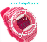 NEW CASIO BABY-G DIGITAL BGD-120P BGD-120P-4DR 200M WR RADIATING DESIGN FACE