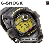 CASIO G-SHOCK NEW FRONT BUTTON DESIGN G-8900 G-8900-1 SUPER LED STOCK RESISTANT