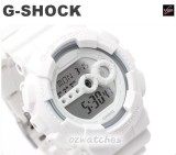 NEW CASIO G-SHOCK SUPER LED GD-100 GD-100WW-7 7YEAR BATTERY BIG FACE WHITE BAND
