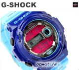 NEW CASIO G-SHOCK G-LIDE MOON PHASE GLX-150 GLX-150-2 BLUE SUPER LED BACKLIGHT