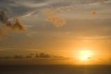 sunset at St Helena