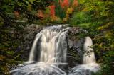 * 62.2 - Superior Area: Little Manitou Falls In Autumn, Horizontal