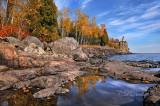 ** 43.9 - Split Rock Lighthouse, 2013 Calendar Cover, Lake Superior Magazine