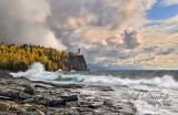 44.4 - Split Rock Lighthouse:  October Storm Panorama