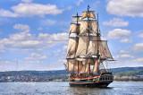 ** TS-1: HMS Bounty Headed For Duluth Harbor, Horizontal