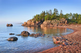 ** 113.14 -  Silver Bay Shoreline Just After Sunrise