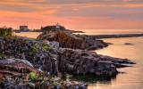 133.6 - Grand Marais Sunrise, From South Side Of Harbor