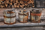106.32 - Wooden Buckets:  Grand Portage National Monument