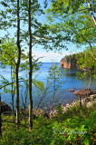 51.1 - Lake Superior View, Spring on North Shore