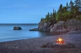 113.16 - Silver Bay Beach: Pre-Dawn Campfire