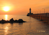 96.4 - Duluth:  Sunrise At North Pier