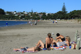 Relaxing,...Manly Beach, Whangaparaoa.