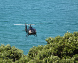 Neighbour arriving flying up from the bottom of the cliff towards me !!