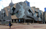Building at Federation Square.