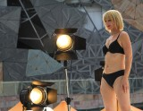 Modelling in Federation Square.