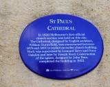 St. Pauls sign.