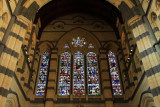 Inside St. Pauls cathedral, Melbourne