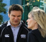 Michael Jones (ex All Black talks to Jude Henry - Celebrity